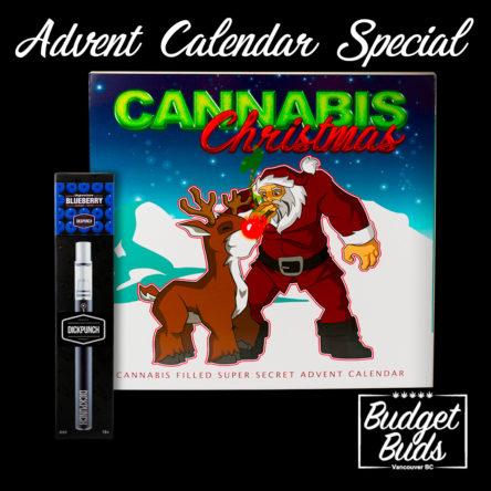 Advent Calendar + Blueberry THC Vape Pen