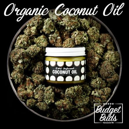 Organic THC Coconut Oil